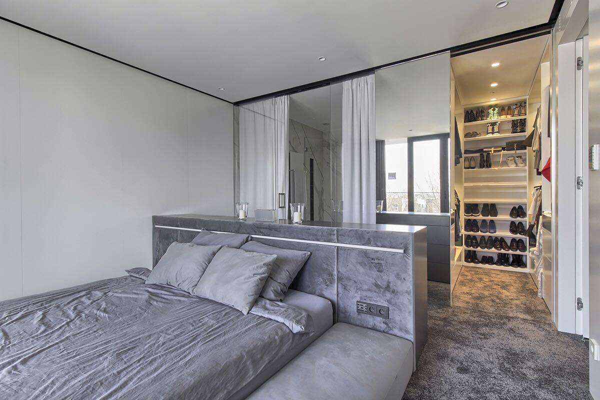 Wyjątkowa Sypialnia Połączona Z łazienką I Garderobą Muc